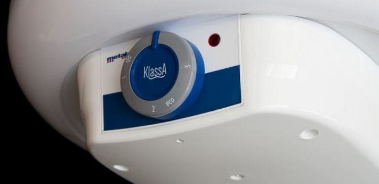 KlassA – New water heater with dry heater